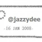 Jazzydee Twitter Passport stamp