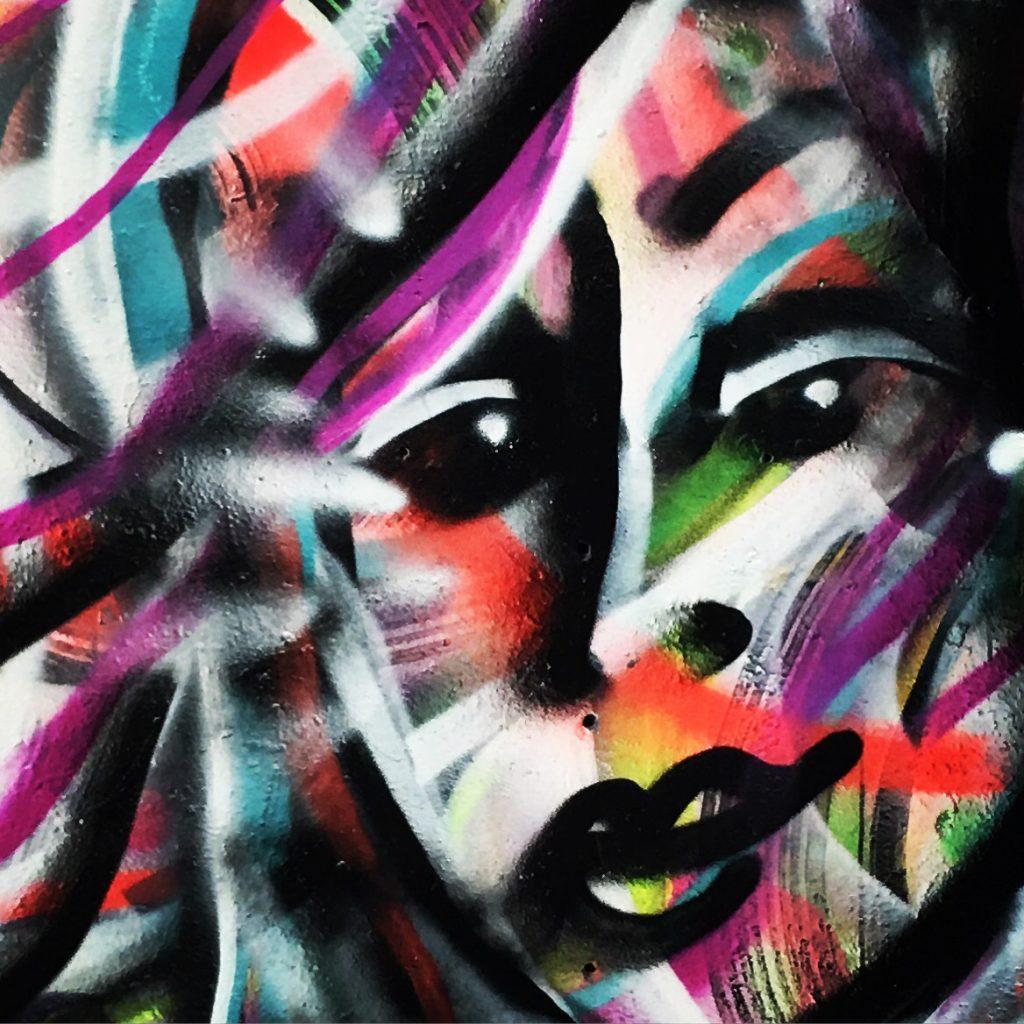 Jasmin Tragas aerosol art