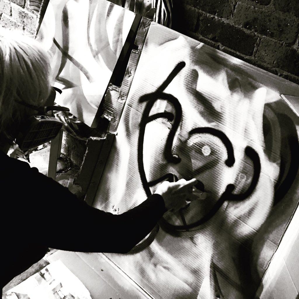 painting spray art