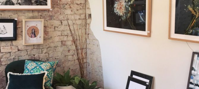 Gallerist @ Arthouse Pop-up Gallery