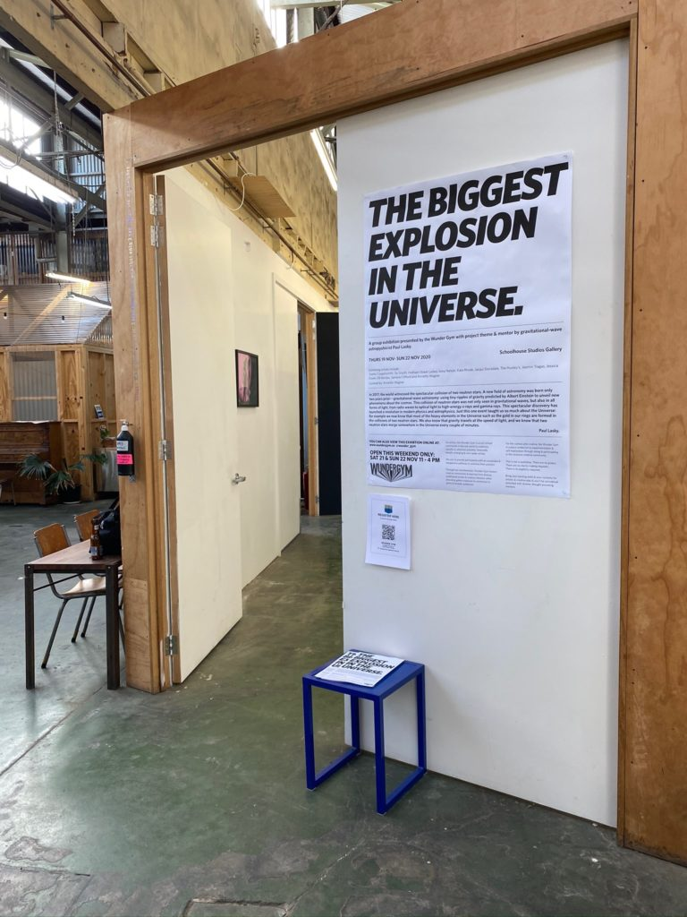 Exhibition Poster The Biggest Explosion in the Universe